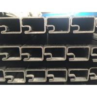 Best stainless steel 316 single slot square tube fabrication wholesale
