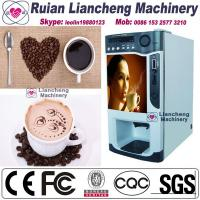 China coffee vending machine outdoor  Bimetallic2700M raw material 3 in 1 microcomputer Automatic Drip coin operated instant on sale