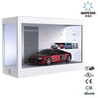 Best Automatic Restart Transparent Display Screen , See Through LCD USB Port wholesale