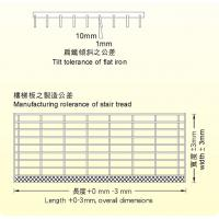 tolerance of steel grating