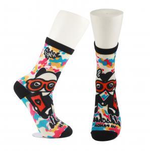 Best Adults  OEM Service  Breathbale Eco-friendly Custom Made Size 3D-Printing Socks wholesale