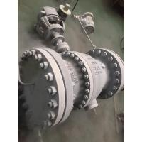 China Cast Steel Trunnion Ball Valve Stable Performance And Reliable Sealing Performance on sale