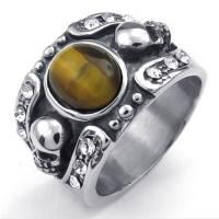 Best Tagor Jewelry Super Fashion 316L Stainless Steel Casting Rings Collection PXR005 wholesale