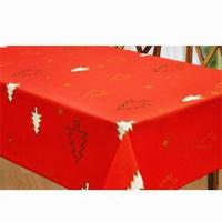 Best Home textile table cloth, made of 100% polyester wholesale