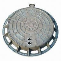 Best Manhole cover, made of ductile/grey cast iron, round/square, solid and infill wholesale