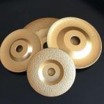 Best Vacuum Brazed Diamond Grinding Wheel For Marble, Granite And Crystal wholesale