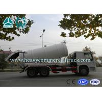 China High Efficiency Sewer Cleaning Truck  , Septic Tank Pumping Truck 8 CBM -12 CBM on sale