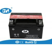 China 125cc Black Maintenance Free Motorcycle Battery Dry Charged For Scooter on sale