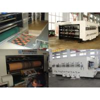 China High Speed Automatic  Carton Box Making Machine Printing Slotting Die-Cutter 220 Pcs/Min on sale