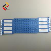 Best C14 Custom Disposable RFID Vinyl wristband Passive with Compatible 1K/F08 chip for activity Event wholesale