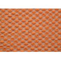 Best Nylon Spandex Cotton Stretch Lace Fabric Orange For Curtains SGS CY-LW0667 wholesale