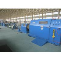 Sky Blue 3Pcs Core Wire / cable braiding machine With 700Rpm Stable Rotation