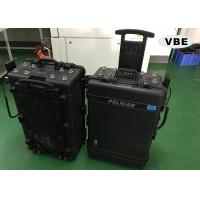 Black Color Portable Signal Jammer 50Ω Input Impedence Direct Grounding Lightning Protection