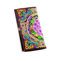 Best ethnic colorful butterfly silk metal close eadge coin purse clutch girls purse wholesale
