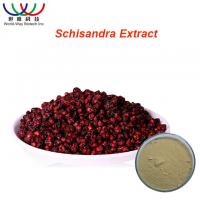 Best Safe Herbal Pure Herbal Extracts Schisandra Extract Light Yellow Powder wholesale