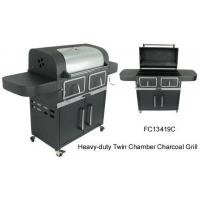 Best Heavy-duty Twin Chamber Charcoal Grill wholesale