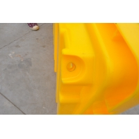 China Oil Tank 4 Drum PE Ibc Spill Pallet on sale