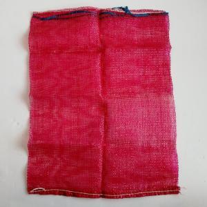 Best Flexible Red Heavy Duty Mesh Bag , 100% Virgin PP Mesh Packing Bags wholesale