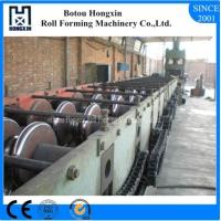 Best Two Waves Tile Roll Forming Machine For Highway Guardrail 8m / Min Capacity wholesale