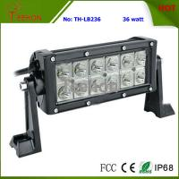 Best 36w 7 Inches Double Row LED Headlight Light Bar for Motorsport Rally Car, Snowmobile, ATV wholesale