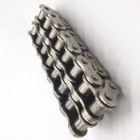 Cheap Short Pitch Nickel Plated Transmission Roller Chain Silver Color 40Mn 60 / 12A for sale
