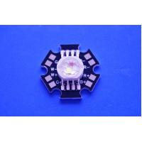 Best 4X3W Epistar LED Chip High Power RGBW Led Diode With Black Star PCB wholesale