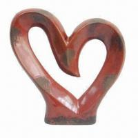 Best Ceramic Statue for Decorative Use, 10.5-inch Height, Unique Design and Contemporary Style wholesale