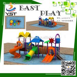 Best Outside Water Park Playground Equipment , Kids Water Park Equipment wholesale