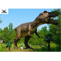 China Life Size Tyrannosaurus Rex Dinosaur Replica , Life Like Garden Animals  on sale