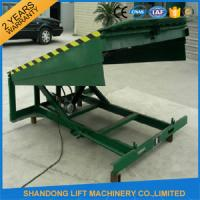 Buy cheap 8 Ton Steel Yard Ramp Truck Loading Dock Leveler from wholesalers