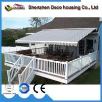 Best Super Quality Patio arm retractable awning/Motorized Full cassette awning wholesale