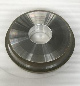 Best Abrasive Grit Resin Bonded Diamond Grinding Wheels Flat CBN Hole 127mm Width 10mm wholesale