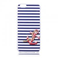 China Blue Strip Anchor Pattern 4.7 inch Phone Case Back Cover ,Wholesale Price on sale