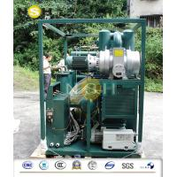 Cheap Mobile Transformer Oil Purifier / Oil Filtration Plant With Fully Aluminum Closed Doors for sale