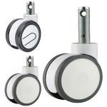 Best central lock caster wheel,central locking caster wheels,medical bed caster wheels wholesale