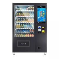 China Black Color Drinks Combo Vending Machine 337~662 Capacity Field Installation on sale