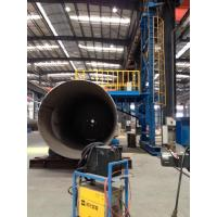 China Auto Welding Tank Turning Rolls / Pipe Welding Rotators 200Ton With Metal Wheels on sale