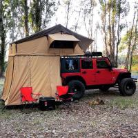 Best Customized Truck Pop Up Roof Top Tent Streamlined Design For Family wholesale