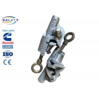 China Stainless Steel Eye Bolt Hot Line Clamps Aluminum Alloy Body Keeper Brass Nut on sale