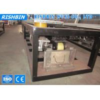 Cheap 5.5 KW Color Steel Rainwater Pipe Roll Forming Machine with 285 mm Width for sale