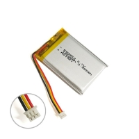 Best Discharge Protection Small Lipo Battery 3.7 V 1050mAh KPL603450 wholesale