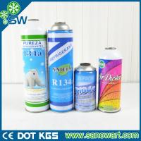 Best 99.9% PURITY refrigerant R134a can packing for auto a/c wholesale