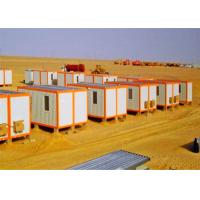 Best Windbreak Storage Container Houses , Flat Pack Storage Container In Desert wholesale