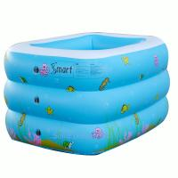Best 130CM Rectange Inflatable Baby Swimming Pool wholesale