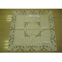 Best 8cm Double Border Hemstitch Collection Tablecloth With Machine Washing wholesale