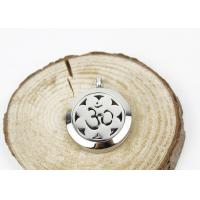 Best Hollow Sun Flower Essential Oil Jewelry Diffuser Necklace Locket 6.5mm Thickness wholesale