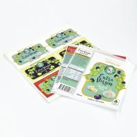 Cheap Custom Made Recycled Art Paper Adhesive Labels for Oil Bottles for sale
