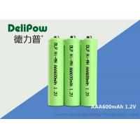 Buy cheap 1.0v~1.2V AAA NIMH Rechargeable Battery With UL / CE / ROHS Certificate product