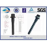Buy cheap Customized Standard 35# Railroad Screw For Fastening Rail product