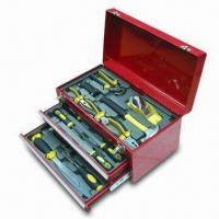 China Carpenter's 51pcs Hand Tool Set with Metal Box and 30 Years Warranty on sale